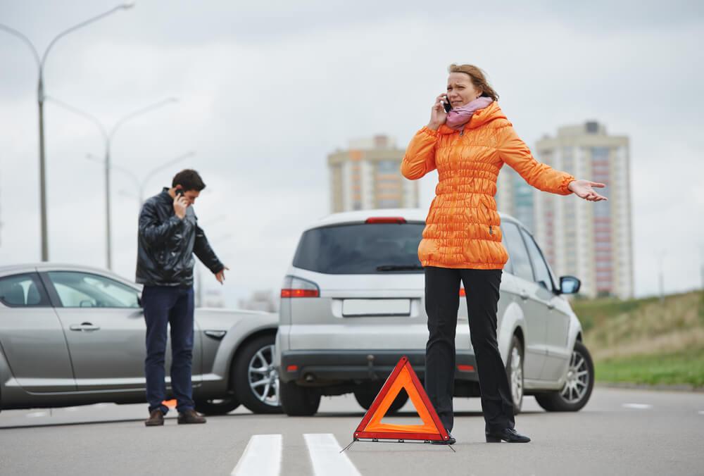 Kā rīkoties, ja noticis ceļu satiksmes negadījums?