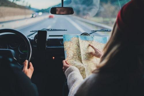 auto ceļojums pa Eiropu