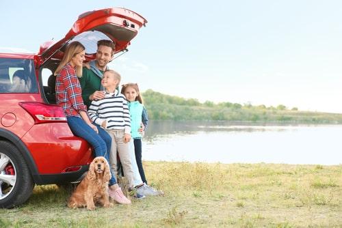 ceļojums ar ģimeni