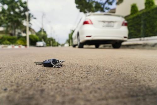 pazaudētas atslēgas
