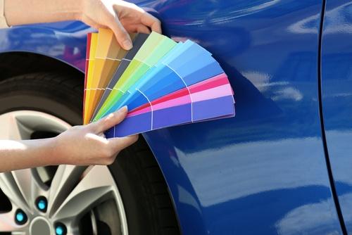 auto krāsojums