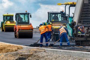ceļu būvdarbi