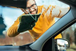 auto logu mazgāšanai