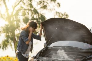 automašīnas pārkaršana