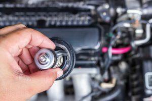 auto termostata pārkaršana