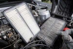 tīri auto gaisa filtri